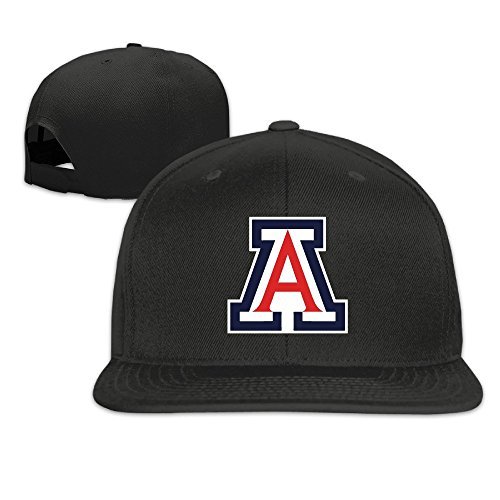 k-fly2-adjustable-university-of-arizona-baseball-caps-hat-unisex-black