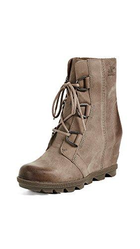 SOREL Women's Joan of Arctic Wedge II Boots, Ash Brown, 6 M