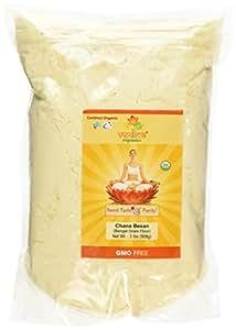 Organic Chana Besan (Chickpea Flour) 2 lbs.