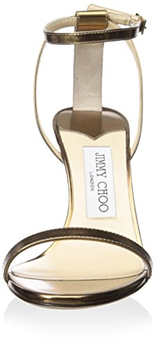 Jimmy Choo Womens Minny Sandalo Oro