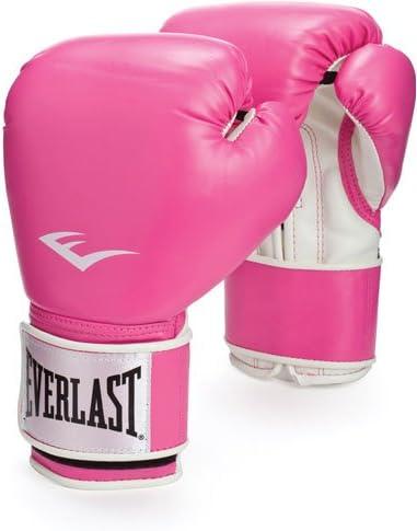 Everlast Boxing Ladies Pro Style Training Gloves Pink