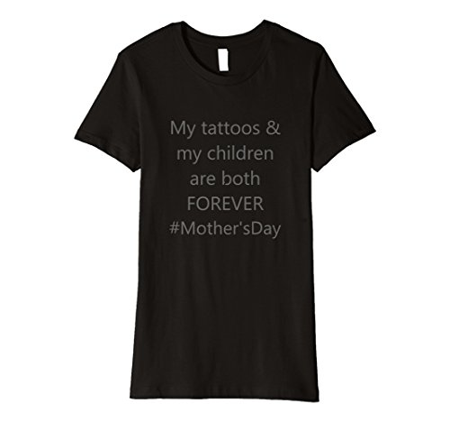 Womens Mother's Day forever like tattoos Premium T-Shirt