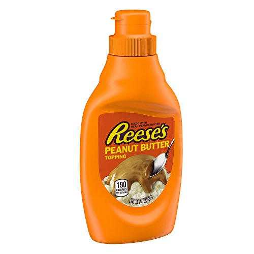 (REESE'S Peanut Butter Topping, 7 Ounce)