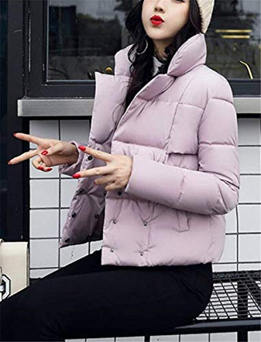 Fashion Lunga Outdoor Coat Winter Saoye Short Ladies Rosa Girl Transition Confortevole Warm Clothes Elegante Solidi Manica Colori Down pdqw0