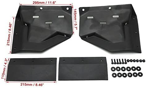 Front Mud Flaps for Polaris RZR XP 1000 Mud Guards for RZR XP Turbo 1000 1 set