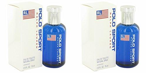 Ràlph Laurén Pôlo Spôrt Côlogne For Men 2.5 oz Eau De Toilette Spray + a FREE 2.6 oz Deodorant Stick (PACKAGE OF 2) - Polo Sport Deodorant Stick