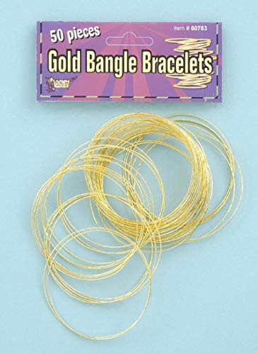 Forum Novelties Gold Bangles 50 Per -