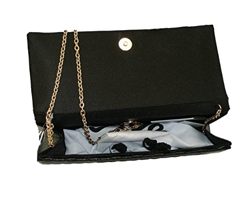 Borsa Love Moschino pochette SHOULDER BAG JC4106 woman laminato pu NERO