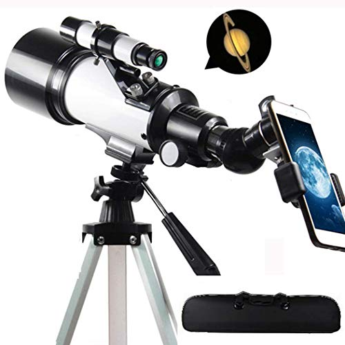 HYCy Kids Telescope for Adults Astronomy Beginners,400mm Focal Length 120X Magnification Travel Scope Refractor…