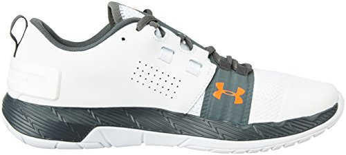Under Armour Herren Commit Weiß / Rhino Grau / Weiß