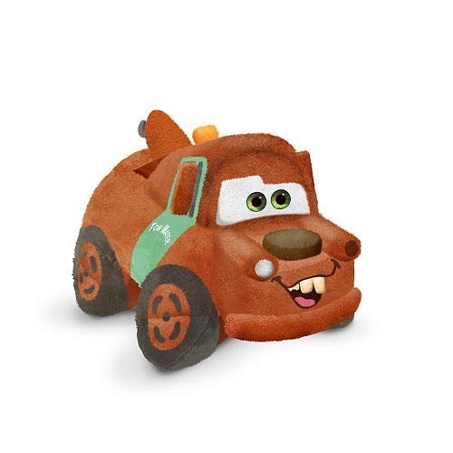 Pillow Pets, Pee Wees, Disney/Pixar Cars 2 Movie, Mater, 11 (Disney Cars Pillow)
