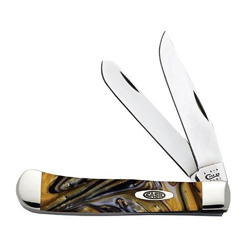 Case Cutlery 925424KT Case 24 Karat Corelon Trapper Pocket K