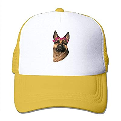 Blue Shepherd Adjustable Snapback Baseball Cap Custom Mesh Trucker Hat by cxms