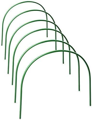 Takefuns 6 unidades de soporte para plantas, marco de soporte de ...