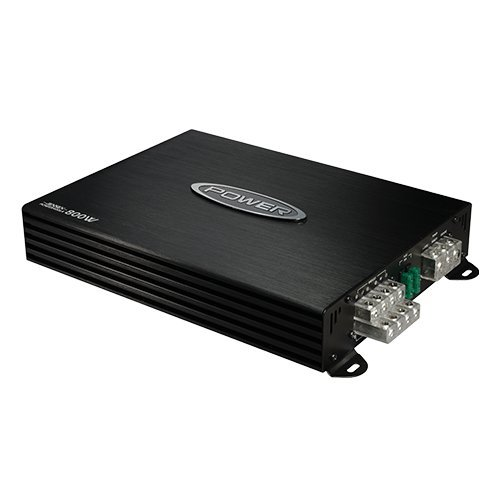 - Jensen Power 400x4 Multi Channel Car Amplifier with 800 Watt Peak Performance