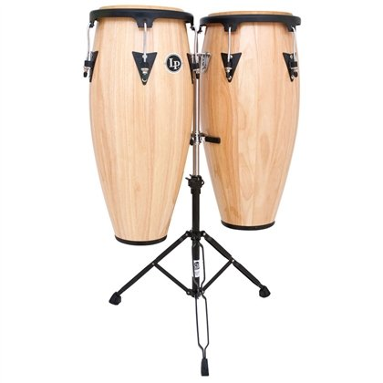 Latin Percussion LPA647-AW Conga Drum Natural / Black
