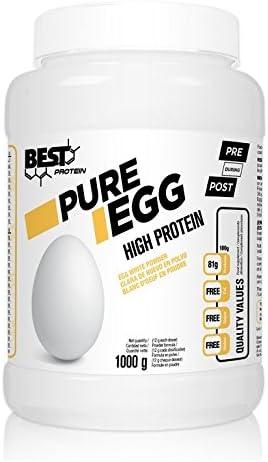 Best Protein Pure Egg sin Sabor - 1000 gr