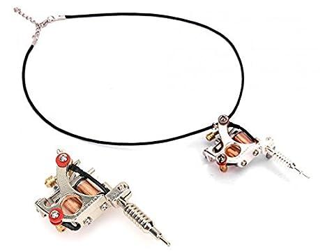 Buy gs100 fashion mini tattoo machine pendant toy with chain silver gs100 fashion mini tattoo machine pendant toy with chain silver aloadofball Gallery