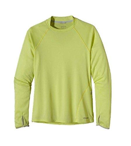 Patagonia Sunshade Crew Women's Yellow XL Patagonia Crew Shirt