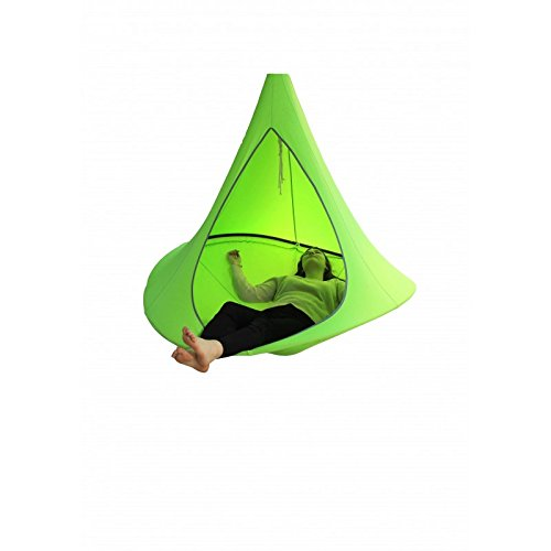 Desineo Tente Suspendue TREEPY 1m50 pour int/érieur ou ext/érieur 70kg Maximum Couleur Vert