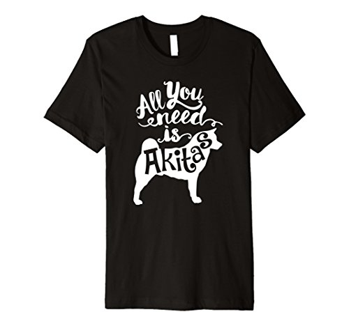 Cute & Funny Akitas Dog | Pet Lover Gift T-shirt J000163