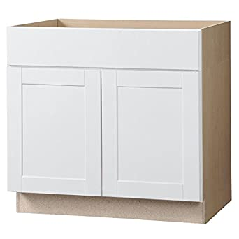 amazon com rsi home products shaker ada sink base cabinet white rh amazon com rsi home products kitchen cabinets continental cabinets by rsi home products