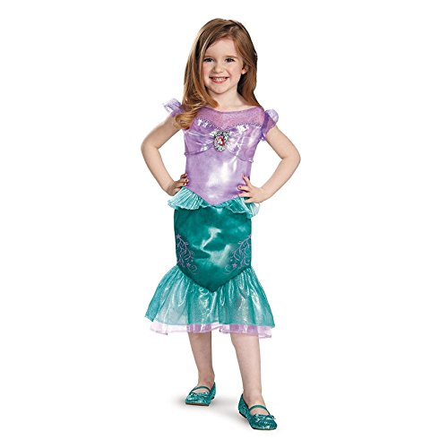 Com Costumes Flounder (Ariel Toddler Classic Costume, Medium (3T-4T))
