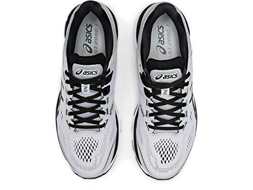 ASICS Men's GT-2000 7 Running Shoes, 10.5M, MID Grey/Black