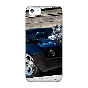 Faddish Phone Wicked Black Camaro Case For Iphone 5c / Perfect Case Cover