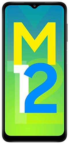 Samsung Galaxy M12 (Black,6GB RAM, 128GB Storage) 6000 mAh with 8nm Processor | True 48 MP Quad Camera | 90Hz Refresh…