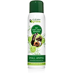 Professional Strength Cleaner, Stain Remover, Deodorizer, Odor Eliminator for Small Animals, 14 Ounce