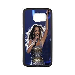 Custom Case Beyonce Knowles For Samsung Galaxy S6 M7Z4Q0810