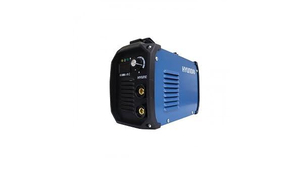 Saldatrice inverter Hyundai 120A Ligh Duty MMA 45100: Amazon.es: Bricolaje y herramientas