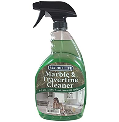 Marblelife Marble & Travertine Cleaner - 32oz Spray by Marblelife Distribution, Inc.