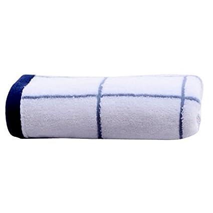 asdomo grueso algodón juego de toallas gamuza de lavar toallas de forma de celosía de por, ...