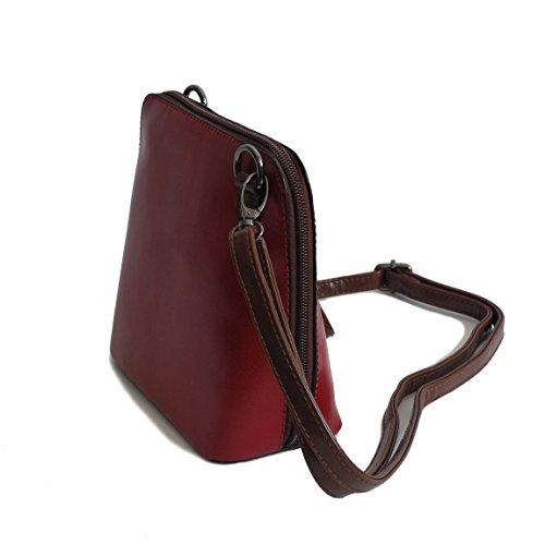 a rosso 0 präsentiert von rosso Multicolore Borsa donna Belly Bella multicolore tracolla ZMOKA® Rosso ZTxqBTw