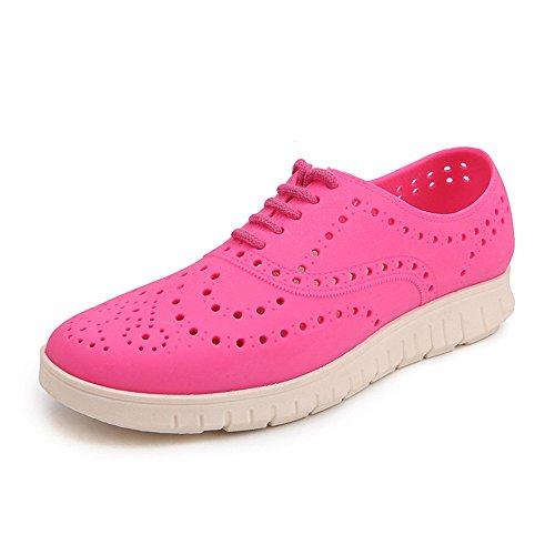 spiaggia da Dimensione uomo con uomo Color Jiuyue e da Sandali 40 Scarpe Rosa slip scarpe donna da Pink Blue su da cava shoes Piccolo zoccoli da EU gq8aw0x8
