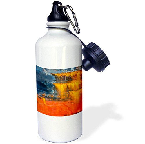 3dRose Danita Delimont - Abstracts - Abstract of the Rusted hull on freighter ship, Vancouver, B.C., Canada - 21 oz Sports Water Bottle (wb_277209_1)