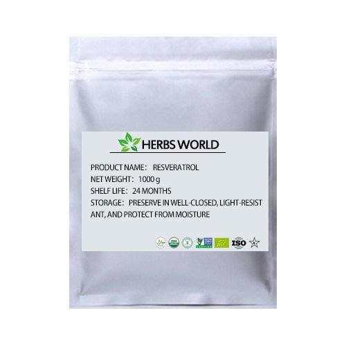 Ochoos Natural Resveratrol Polygonum cuspidatum Extract Powder - (Color: 1000g(35.3oz))
