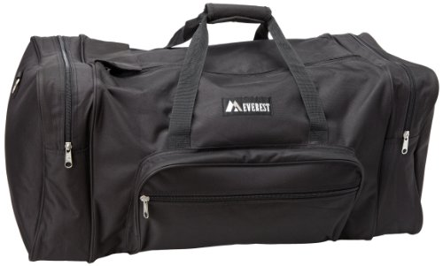 Everest Luggage Classic Gear Bag - Large, Black, Black, One Size