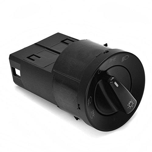 New Euro Headlight Head Fog Parking Light Switch Knob For VW Golf GTI Jetta MK4 4 Bora Passat B5 3B B5.5 3GB Beetle
