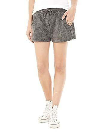 Alternative Womens Classic Eco-Mock Twist Shorts Large Eco Black