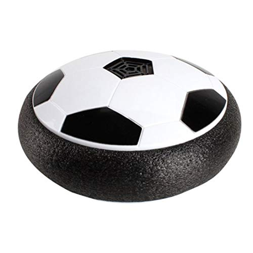 Baynne 18CM Football Toys with Music Boy Home Game Colorful LED Light Flashing Ball Toy Air Power Soccer Balls Stress Ball ()