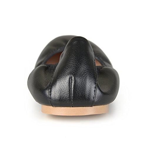 Collezione Journee Scarpette Da Ballo Flessibili Da Donna, Nero
