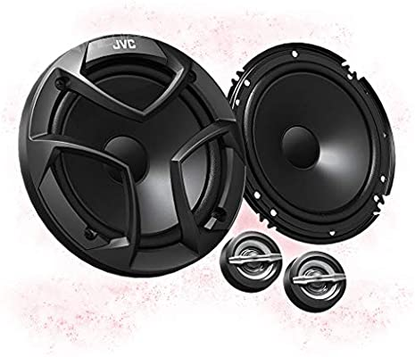 JVC CS-V618 color negro 30 W RMS, 45-20,000Hz, 6.5 Pack de altavoces