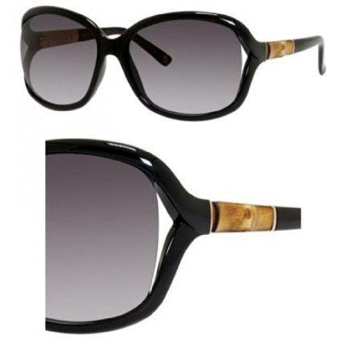 Gucci Sunglasses - 3671 / Frame: Shiny Black Lens: Gray Gradient