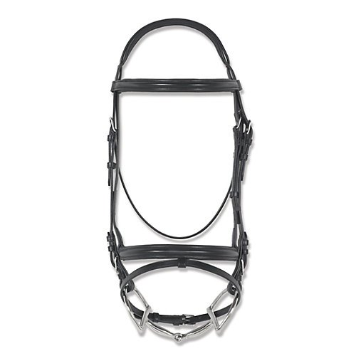 Ovation Leather Comfort Crown Bridle Cob Black ()