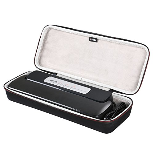 LTGEM EVA Hard Case for GERYON Vacuum Sealer Automatic Food Sealer Vacuum Packing Machine - Travel Protective Carrying Storage Bag