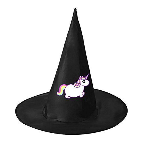 Group Men Costumes X Halloween (Halloween hat cute small unicorn Adult Witch Costume Hat for)