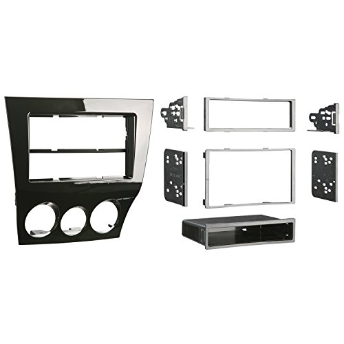 Metra 99-7515HG Mazda RX-8 2009-Up Installation Dash Kit for Single or Double DIN/ISO Radios (8 Dash Kit)